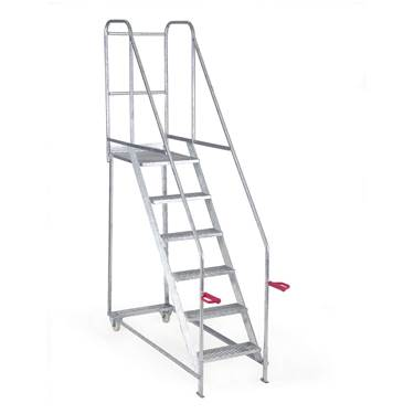Picture of Fort Tilt N Push Steps - Galvanised