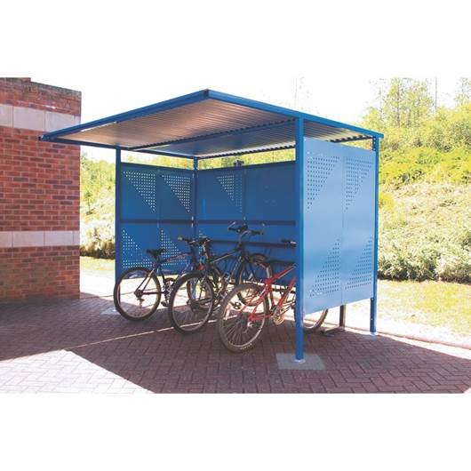 Picture of Traditional Cycle Shelters - Powder Coated