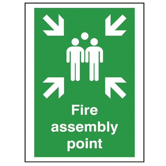 Picture of Fire Assembly Point Sign