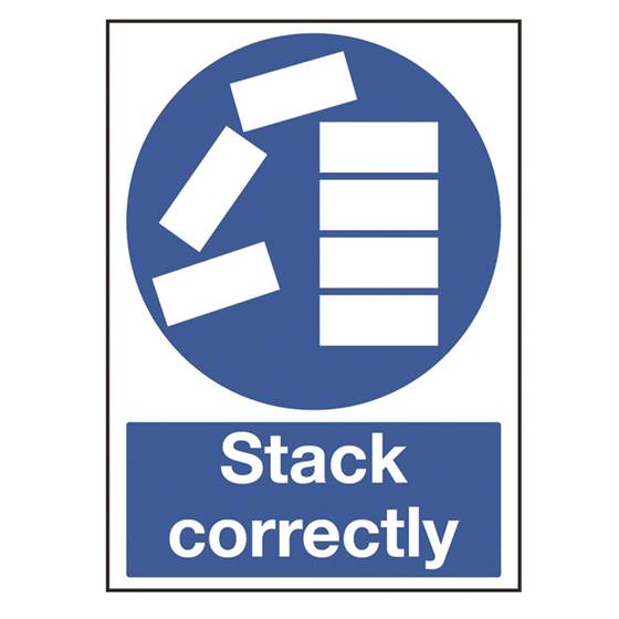 Picture of Stack Correctly Sign