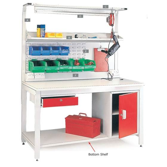 Picture of Accessories for General Purpose Workbenches