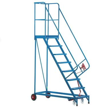 Picture of Fort Heavy Duty Vantage Mobile Steps with Steel Treads