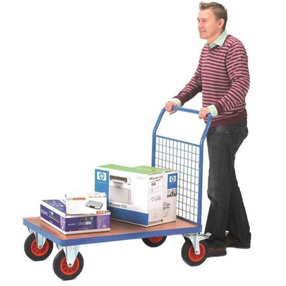 Picture of Fort Plywood Platform Trucks with Single Mesh End
