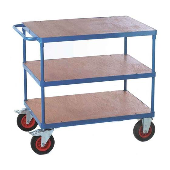 Picture of Fort Shelf Truck with Plywood Shelves