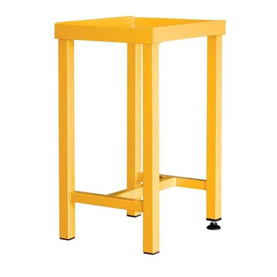 Picture of Stand for Hazardous Materials Storage Cabinets