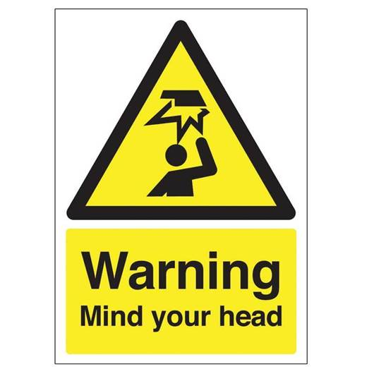 Picture of Warning Mind Your Head Sign
