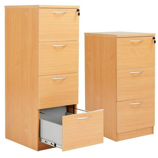 Picture of Fraction Filing Cabinets
