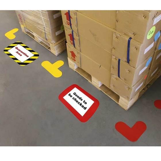 Picture of Frames4Floors - Floor Label Holder