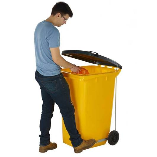 Picture of Wheeled Bins with Side Pedal