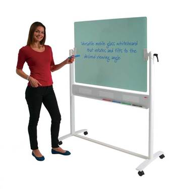 Picture of WRITE-ON® Glass Revolving Whiteboards