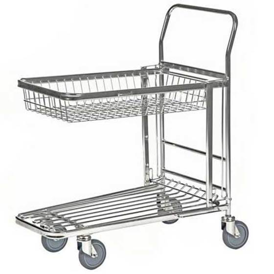 Picture of Folding Top Shelf Nesting Stock Trolleys