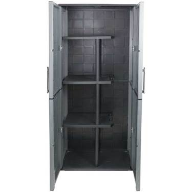 Picture of Industrial Utility Cupboard with 3 Half Shelves