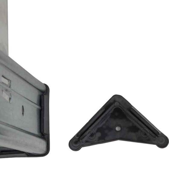 Picture of Metal Feet and Floor Fixings for Idea Plus Galvanised Shelving