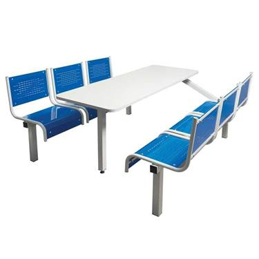 Picture of Canteen Tables with Steel Seats
