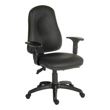 Picture of Ergo Comfort 24 Hour Chair - PU Wipe Clean with Armrests